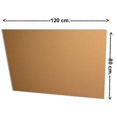 Planchas cartón ondulado 80x120 cm
