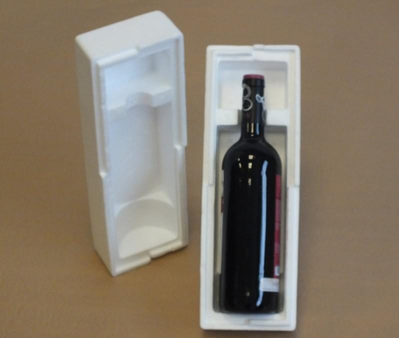 Caja porex para envios 1 botella