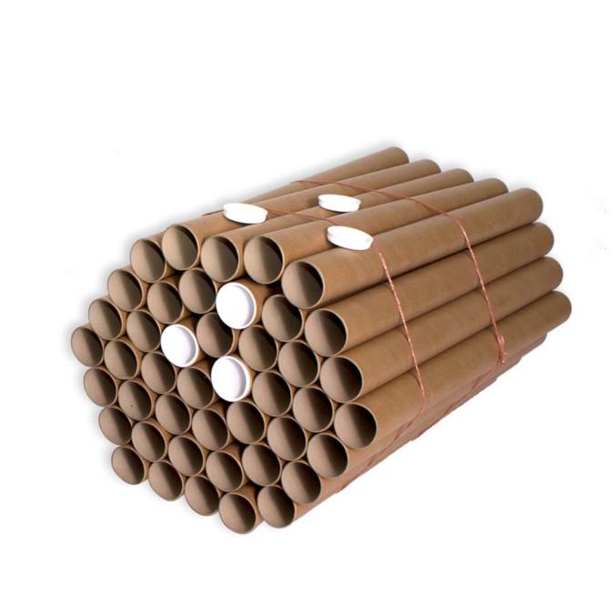 Tubos de carton compacto 50x650mm