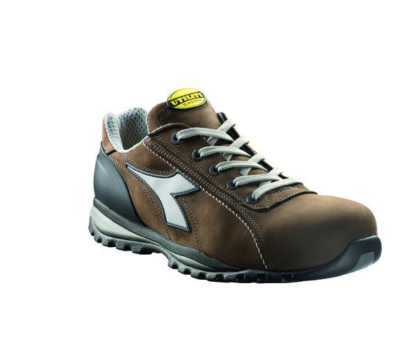 Zapatillas de seguridad deportivas Diadora GLOVE II S3 HRO marron oscuro