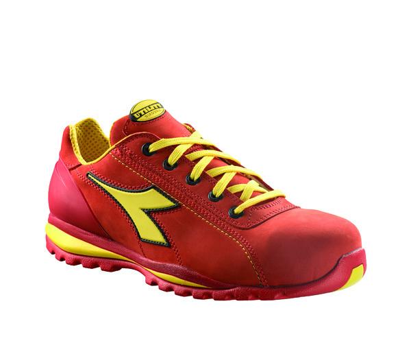 Zapatillas de seguridad Diadora GLOVE II S3 HRO rojo