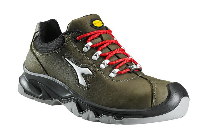 Zapatos de seguridad Diadora DIABLO S3 SRC CI verde oscuro