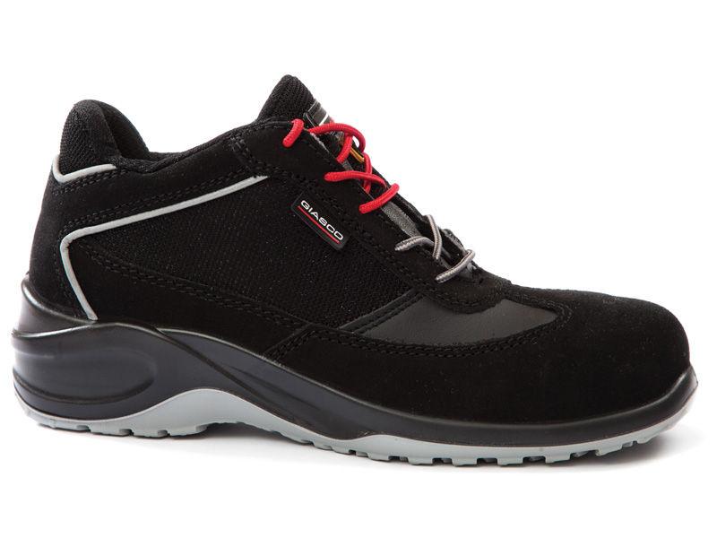 4Walk Stone S3 - zapatos de seguridad puntera composite - negro - talla 39 EQUnit