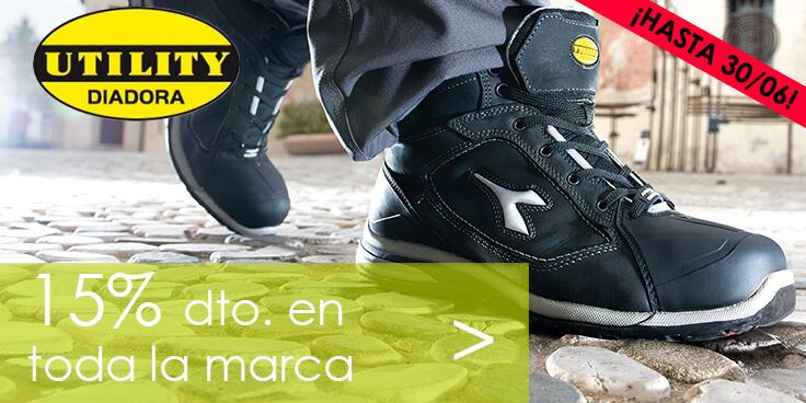 15% de descuento en calzado de seguridad Diadora