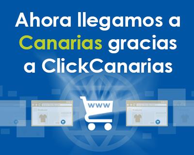 Calzadodeproteccion ahora envia a Canarias gracias a ClickCanarias
