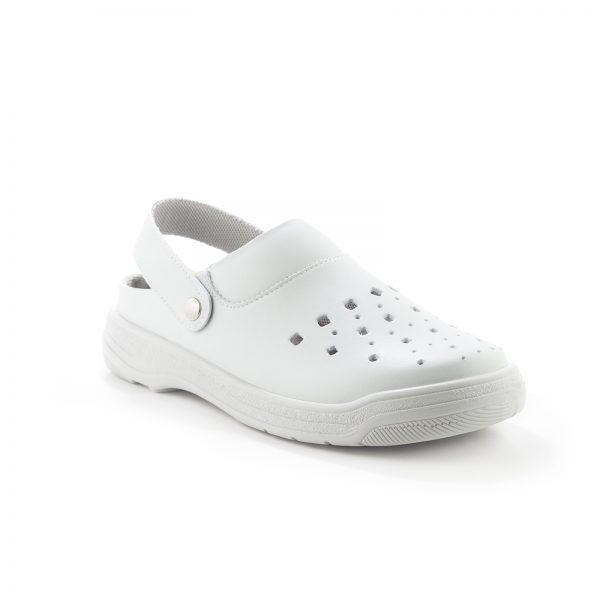 Dian Pisa estampado - zapatos hospitalarios - talla 40 - blanco 5E8izOZang