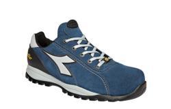 Zapatillas deportivas de seguridad Diadora GLOVE TECH HIGH PRO S3 SRA HRO ESD azul cosmos