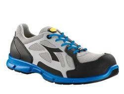 Zapatillas deportivas de seguridad Diadora D-FLEX LOW S1P SRC gris/azul real