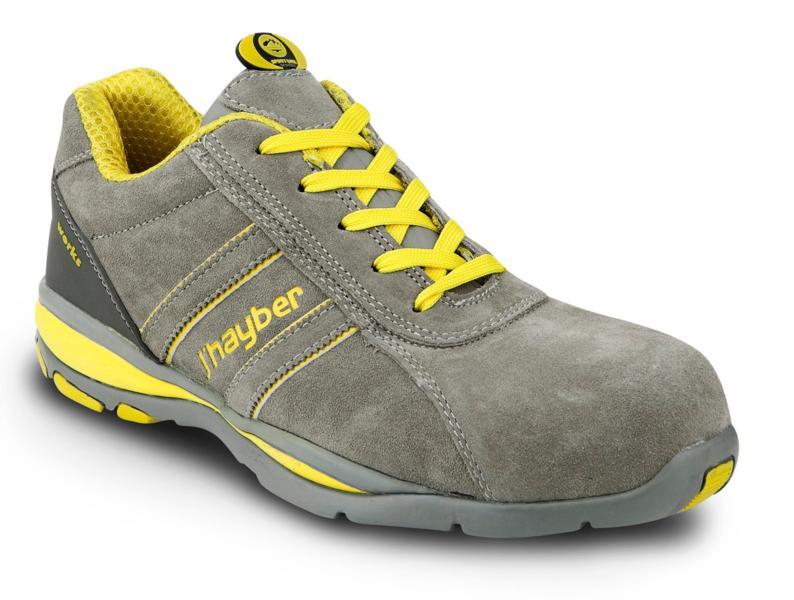 Zapatos de seguridad deportivos j 39 hayber goal s1 p src gris for Calzado de seguridad deportivo