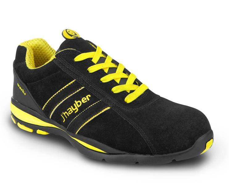 zapatos de seguridad deportivos j 39 hayber goal s1 p src negro