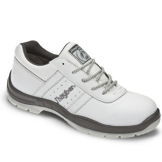 Zapatos de seguridad blancos j 39 hayber cobre 2 0 s1p src for Zapatos de trabajo blancos