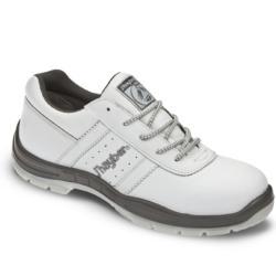 Zapatos de seguridad blancos S1P 100% metal free de la nueva linea de J'HAYBER CASUAL SPORT, estas zapatillas de seguridad son ideales para los trabajos relacionados con el mundo de la pintura y decoración también para laboratorios y otros sectores.