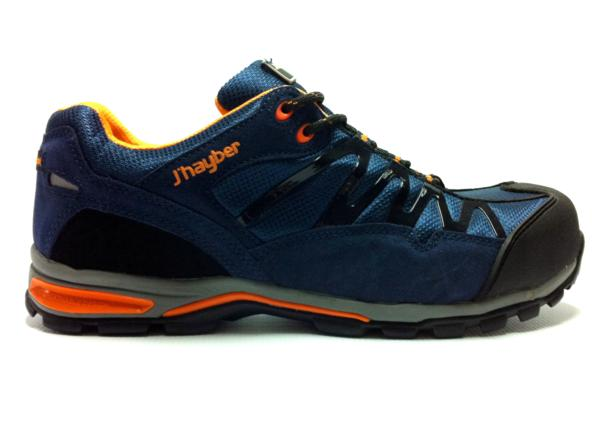 Zapatos de seguridad con suela transpirsable j 39 hayber grip for Calzado de seguridad deportivo