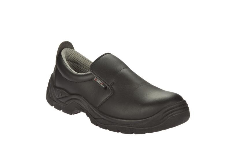 Calzado seguridad sin cordones nevada s2 src negro - Zapatos de cocina antideslizantes ...