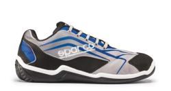 Calzado de seguridad deportivo METAL FREE diseñado con un aspecto puramente racing. Es un calzado de seguridad deportivo de tecnología avanzada fabricado con tejidos técnicos de alta resistencia y a la vez muy transpirables, cabe destacar la tecnología de
