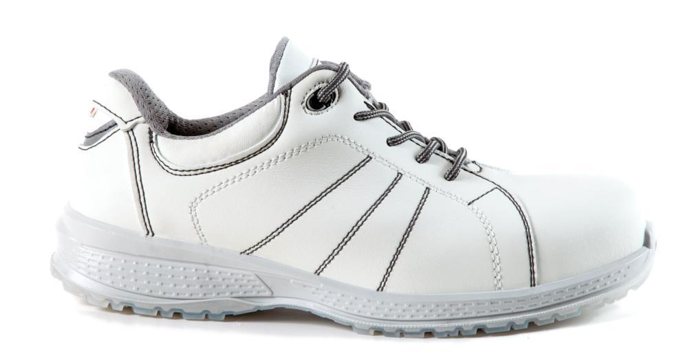 valor por dinero venta outlet venta caliente real Zapatos de seguridad BLANCOS Giasco STOCKHOLM S2 ESD SRC