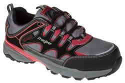 Zapatillas de seguridad deportivas con membrana impermeable. Calzado 100% METAL FREE ideal para trabajar en exteriores con frío y lluvia.
