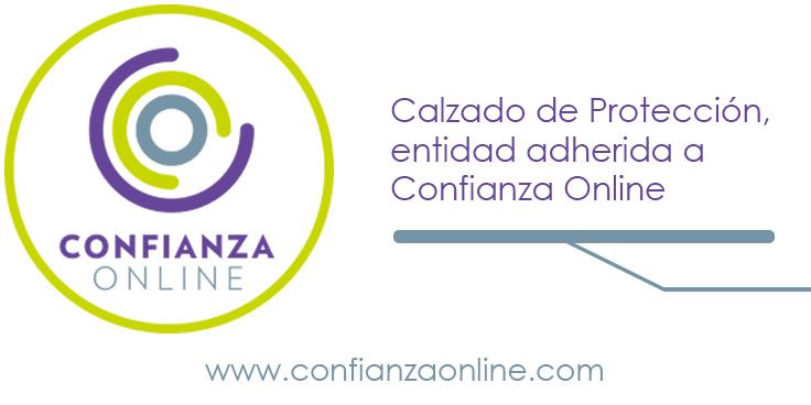 Calzado de Protección recibe el sello de calidad de Confianza Online