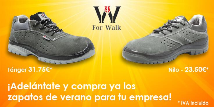 ¡Adelántate y compra ya los zapatos de verano para tu empresa!
