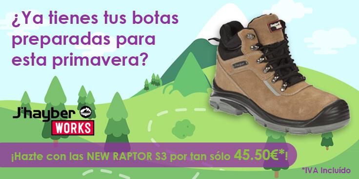 ¿Ya tienes tus botas de seguridad preparadas para esta primavera?