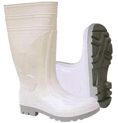 Botas De Seguridad De PVC Blanco WV0f78xDY