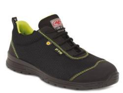 zapato de protección, monta una puntera no metálica con un material plástico composite y una plantilla anti-perforación. Respecto a la suela destacamos su alto nivel anti-deslizante SRC fabricada con poliuretano bidensidad que ofrece una alta comodidad.