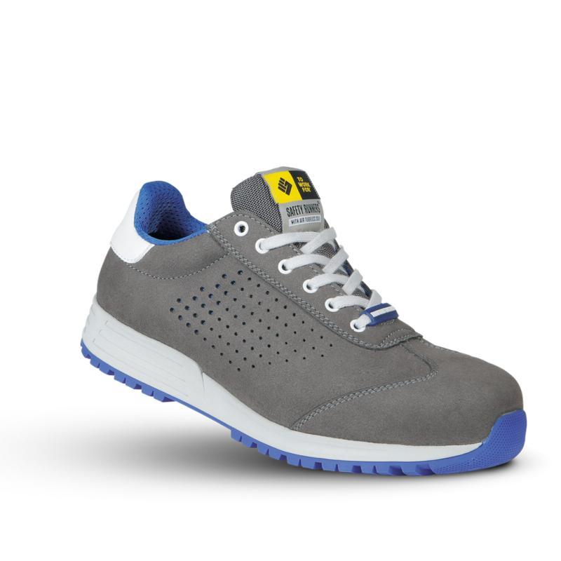 To Work For Big Brother S1P grandes zapato de seguridad tallas grandes S1P azul 4425ce