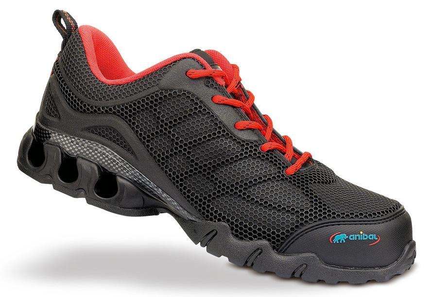 Zapatillas de seguridad deportivas anibal kronos s1p for Zapatillas de seguridad