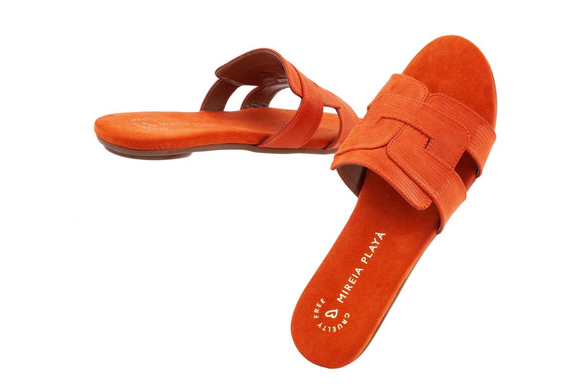 Pala Material En Tejus Sandalia Tipo NaranjaTacón Plano 2WED9HIY