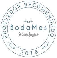 """Nuptalia - """"Proveedor recomendado 2018 """" Boda Mas - El Corte Inglés"""