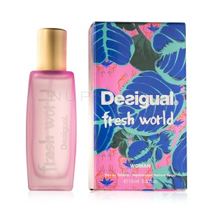 perfume desigual fresh world spray ideas detalles bodas