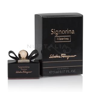 Miniatura Signorina Misteriosa Ferragamo perfumes miniperfumes detalles boda bautizo comunion