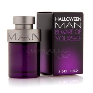 Miniatura de perfume Halloween Man de Jesus del Pozo Ferragamo miniperfumes detalles boda bautizo comunion colonia