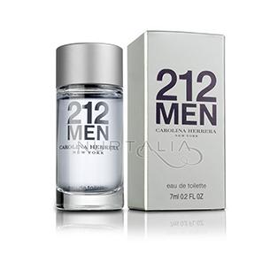 Miniatura 212 Men Carolina Herrera Miniaturas perfumes miniperfumes detalles boda bautizo comunion