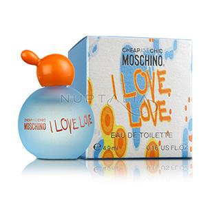 Miniatura I Love Love Moschino Miniaturas perfumes miniperfumes detalles boda bautizo comunion