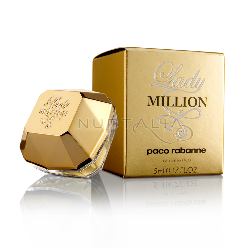 perfume lady million mujer