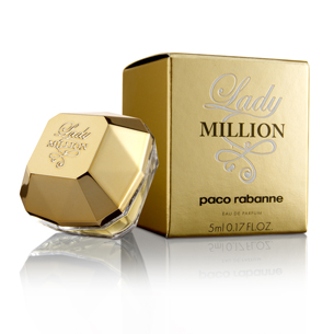 Miniatura Lady Million Paco Rabanne Miniaturas perfumes miniperfumes detalles boda bautizo comunion