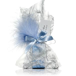 Saquito platino. Detalles de boda, obsequios invitados. Saquitos presentaciones envoltorios regalos.