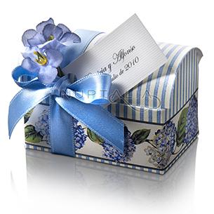 Caja Baúl. Detalles de boda, obsequios invitados. Cajitas presentaciones envoltorios regalos.