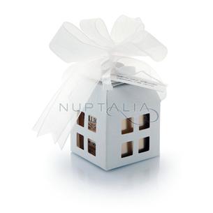 Caja cuadrada farollillo con ventanas obsequios invitados. Cajitas presentaciones envoltorios regalos relieve textura estampado
