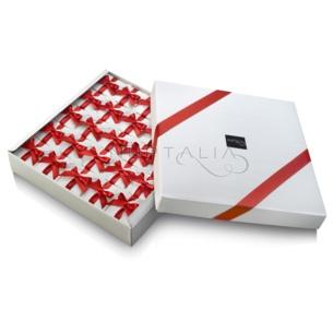 Embalajes, cajas elegantes cestas repartición detalles boda comunion bautizo