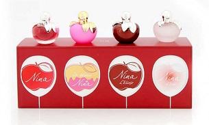 estuche miniaturas de perfume Nina regalo mujer original