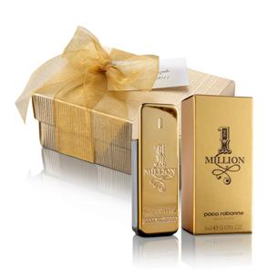 Mini perfume 1 million boda for Detalles de boda para hombres