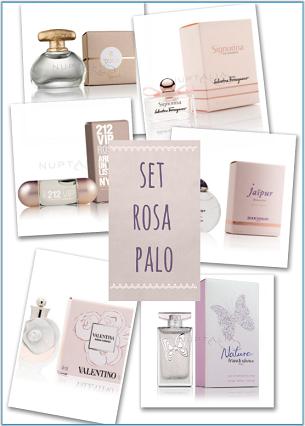 set mini perfumes rosas