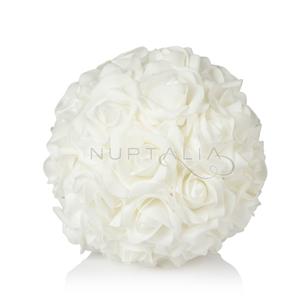 decoracion bodas bola flores artificiales rosas centros mesa flores artificiales DIY sala banquete photocall