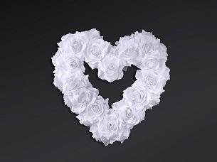 decoracion bodas corazón flores artificiales rosas centros mesa flores artificiales DIY sala banquete photocall