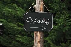 pizarra decoración bodas
