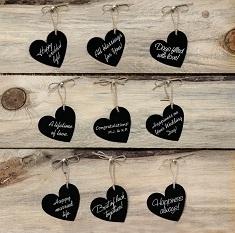 marcasitios corazon pizarra ideas bodas originales