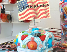 Mesa de chuches o candy bar Hollywood 25 personas