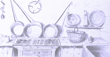 Home Fragrance Sticks kitchen Anis Coriandre - Item1